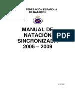 Manual Arbitro Sincronizada