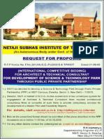 NSIT,DELHI REQUEST FOR PROPOSAL