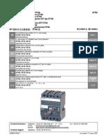 Interruptor automatico 3VT, tipo VT160