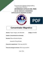 Concentrador Magnético