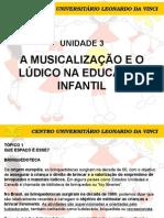 Lúdico e Musicalização - Unidade 3