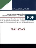 Comentario Gálatas - Samuel Pérez Millos