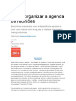 Exemplo de Agenda