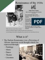 Harlem Renaissance Presentation