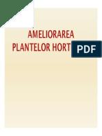 1. Ameliorarea Plantelor Horticole - Partea Generala 1