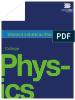 OpenStax Physics-Student Solution Manual