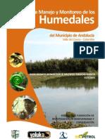 Plan de Manejo y Monitoreo de Los Humedales de Andalucia