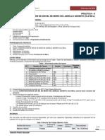 Ejercicio de Planificación con Microsoft Project 2013