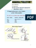 Präpositionen Mit Dativ Und Mit Akkusativ (1)