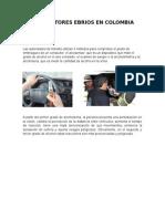 Conductores Ebrios en Colombia