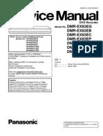 Panasonic Dmr-ex83 Ex773 Service manual
