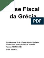 Crise Fiscal Da Grécia