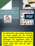 Organización Interna Del Discurso Expositivo