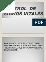 Control Signos Vitales