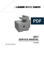 CLP1036 Service Manual