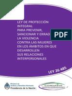 Ley 26485 de Protección Integral