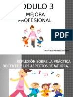 Modulo 3 Mejora Profesional Maricela Mendoza Otero