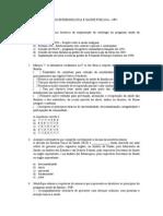Exercício de Revisão Epidemiologia e Saúde Pública Np2-Alunos
