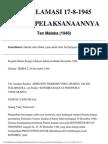 Tan Malaka Proklamasi 17 Agustus 1945 (1948)