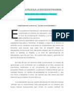 Analisis de La Pelicula La Educacion Prohibida