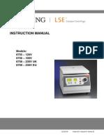 Manual LSE Compact Centrifuge