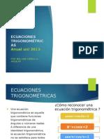 Ecuaciones Trigonometricas 2013_1