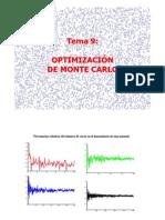 Optiimización de Monte Carlo UMA
