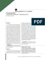 La Relación Terapeuta-paciente en La Práctica Fisioterapéutica