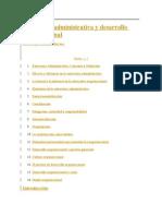 Estructura Administrativa y Desarrollo Organizacional