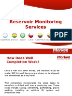 Reservoir Monitoring Service by Ricardo