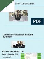 Rentas de Cuarta Categoria Diapositivas 1