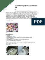 Como Preparar Merenguitos y Comerlos Como Masitas