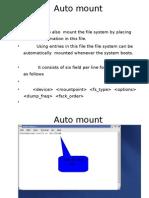 Auto Mount