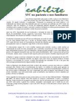 O Impacto Do AVC No Paciente e Nos Familiares