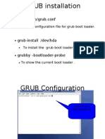 GRUB Installation