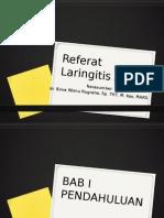 Referat Laringitis