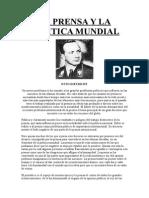 Prensa y La Politica Mundial, La - Dietrich, Otto