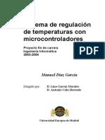 Sistema Regulador de Temperaturas Con Microcontroladores