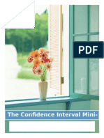 the confidence interval mini-project