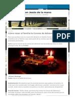 Cómo rezar el familia la Corona de Adviento _ Caminando con Jesús de la mano.pdf