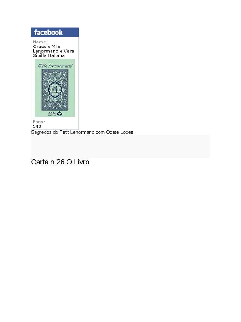 983012a33 Lenormand en Portugues