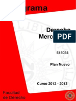 Dere Mercantil II (Plan Nuevo) 2013