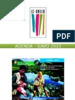 - Agenda – Junio 2015