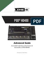Pod Hd400 Advance Guide
