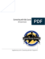 Junior Police Academy –connecting With Kids Workbook
