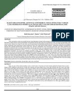 14. KAJIAN ORGANOLEPTIK, AKTIVITAS ANTIOKSIDAN (Hedi, et al).pdf