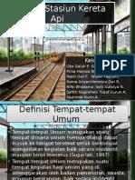 Sanitasi Stasiun Kereta API