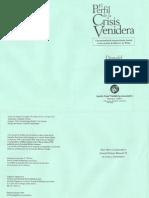 Perfil Crisis Venidera