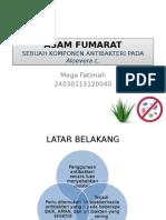 ASAM FUMARAT Pada Aloevera Debagai Antibakter