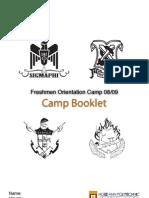 "FOC 08/09 ""Greek"" Camp Booklet"